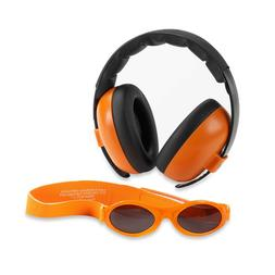 Baby Banz mini earmuffs combo squiggle Earmuffs + Sunglasses