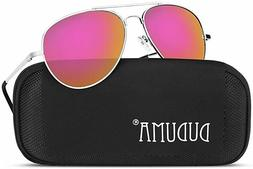 Mirrored Sun Glasses for Men Women DUDUMA Shades UV400 PINK