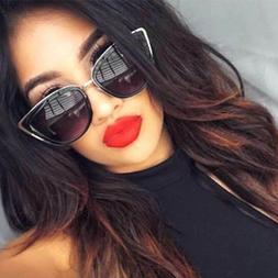 """My Girl"" Cat Eye Women Fashion Sunglasses Oversized Frame M"