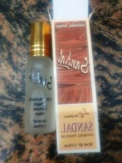Natural Spray Sandal Apparel Perfume - 30 ml e fl 1.2 OZ