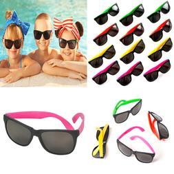 Neon Bulk Kids Sunglasses Party Favors Pool Goody Bag Filler