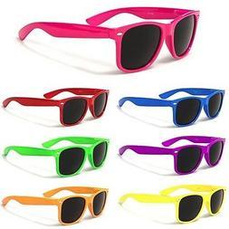 Neon Men Women Sunglasses Retro Vintage Fashion Glasses Chea