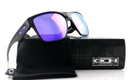 RARE New OAKLEY 2 Two Face XL Black Violet Iridium Lens Sung