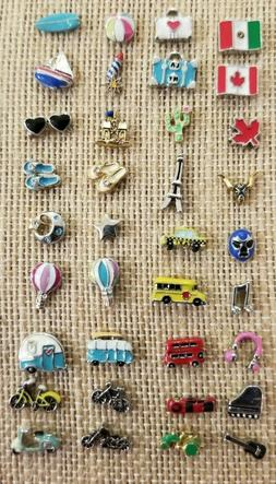 NEW Authentic Origami Owl Floating charms Travel Summer