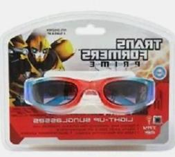 NEW Boy's Transformers Prime Light Up Sunglasses, Fits Child