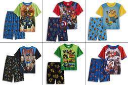 NEW Boys Pajamas Avengers TMNT, Minion, Lego Ninjago Size 6-