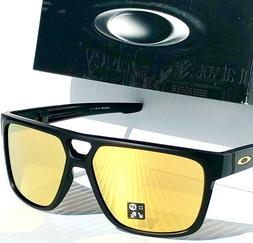 NEW* Oakley CROSSRANGE PATCH Matte Black w 24K GOLD Sunglass