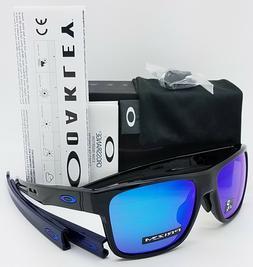 NEW Oakley Crossrange sunglasses Black Prizm Sapphire 9371-1