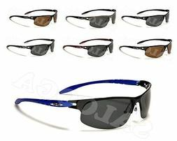 New X Loop Designer Sport POLARIZED Half Frame Sunglasses Fo
