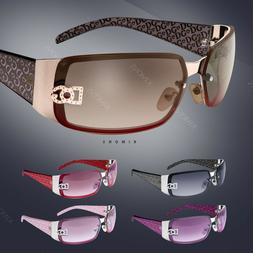 New DG Women Rectangular Rimless Sunglasses Fashion Designer