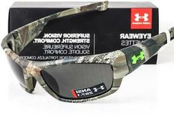 NEW UNDER ARMOUR FORCE SUNGLASSES Satin Realtree Camo frame/