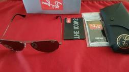 New in box RayBan ORB 3025 Sunglasses