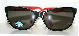 NEW Columbia Kaliope C01 Black Red New Cat Eye Polarized Sun