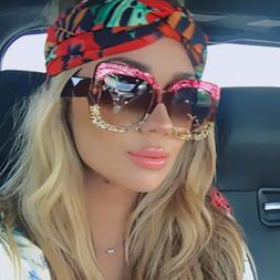 New Large Oversized Square Anoushka Bella Women Sunglasses F
