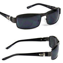 New Mens Pilot Fashion Designer Sunglasses Shades Retro Wrap