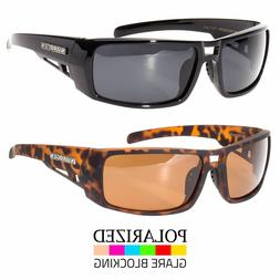 New Mens Polarized Sunglasses Fits Large Size Wide Sports Su