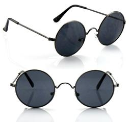 New Mens Womens Round Circle Sunglasses Shades John Lennon R