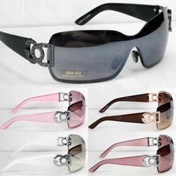 New Mens Womens Shield Wrap Around Sunglasses Fashion Design
