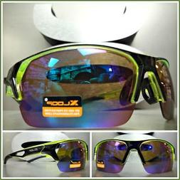 New Mens WRAP AROUND SPORTY CYCLING FISHING HUNTING SUN GLAS