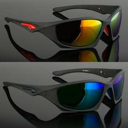 New Polarized Outdoor Sports Eyewear Driving Sunglasses Wrap
