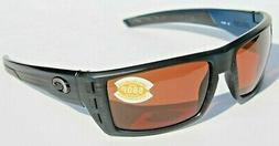 New Costa Del Mar Rafael Polarized Sunglasses 580P Matte Bla