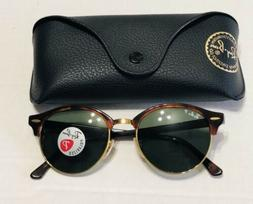 new ray ban clubround polarized sunglasses 990