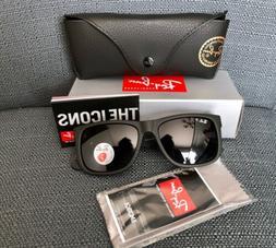 New Ray Ban Justin Polarized Sunglasses RB4165 622/T3 Grey G