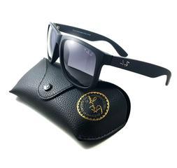 New Ray-Ban Justin Wayfarer POLARiZED RB4165 622/T3  Black/G