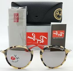 NEW Rayban sunglasses Round RB2447 1247P2 52 Tort Grey Polar