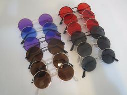 John Lennon Style Sunglasses Round Circle Vintage Retro Clas