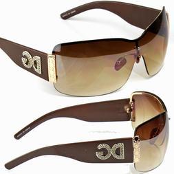New DG Eyewear Shield Women Designer Sunglasses Shades Wrap