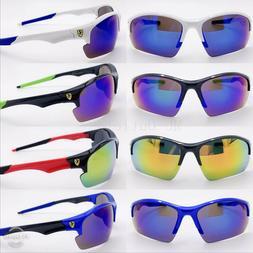 New Sports Sunglasses Cycling Mens Sport Bike UV400 Driving