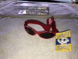 NEW!! Baby Banz Sunglasses 0-2 Years Old Wrap Around 100@ UV