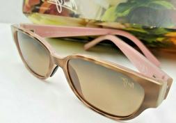 New Maui Jim Sunglasses Anini Beach Tortoise HCL Bronze Pola