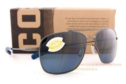 New Costa Del Mar  Sunglasses CANAVERAL Brushed Gray Gray 58