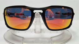 "New Oakley ""TRIGGERMAN"" Sunglasses, Polished Black w/ Ruby I"