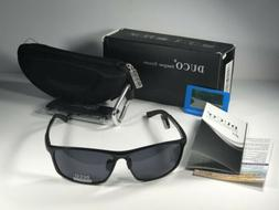 New DUCO UV400 Protection Sports Sunglasses W/Grey Lens Driv