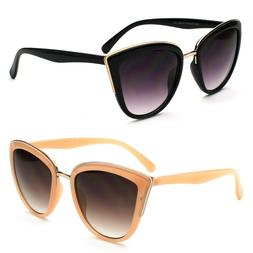 New Women's Classic Cat Eye Designer Fashion Shades Sunglass