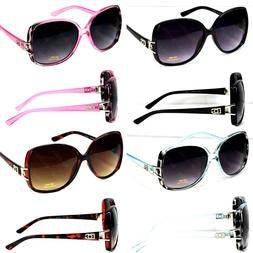 New WB Womens Designer Fashion Butterfly Square Sunglasses R