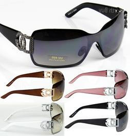 New DG Eyewear Womens Mens Shield Designer Sunglasses Shades