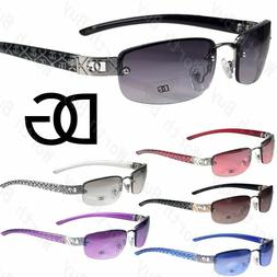 New Dg Eyewear Womens Small Rimless Sunglasses Fashion Desig