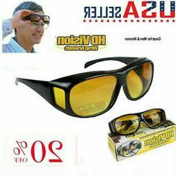 Night Vision Sunglasses Night Sight HD Glasses Driving Anti