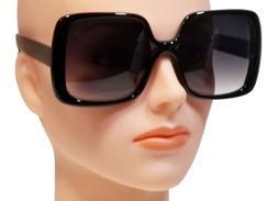 NWT Women Oversized Sunglasses Vintage Jackie O Fashion Styl