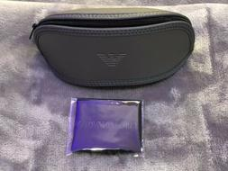 Emporio Armani Original Gray Eyeglass Sunglasses Case Pouch