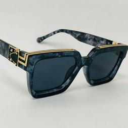 Oversize For Men Sunglasses Thick Frame Square Royale Shades