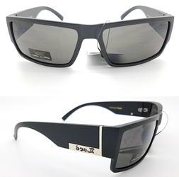 Pack of 15 Locs Gangster sunglasses Matte Black Large gray M