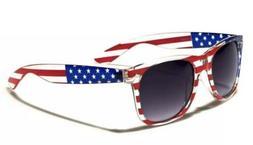 Patriotic 4th July MERICA American USA Flag Sunglasses Vinta