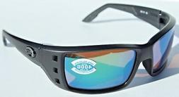 Costa Permit Polarized Sunglasses - Costa 400 Glass Lens Bla