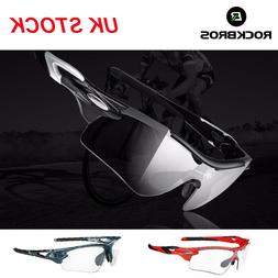 RockBros Photochromic Anti-fog Glasses Sunglasses Polarized