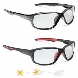 Photochromic Sunglasses Men Polarized Eyewear Transition Len